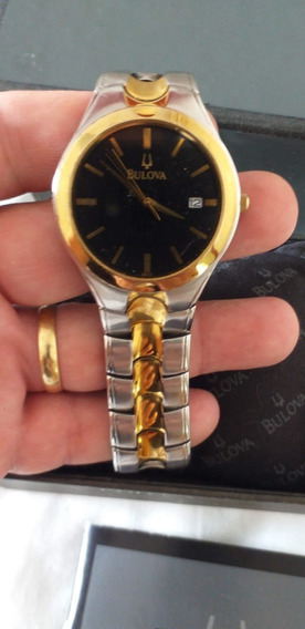 Relógio De Pulso Bulova Masculino Ouro