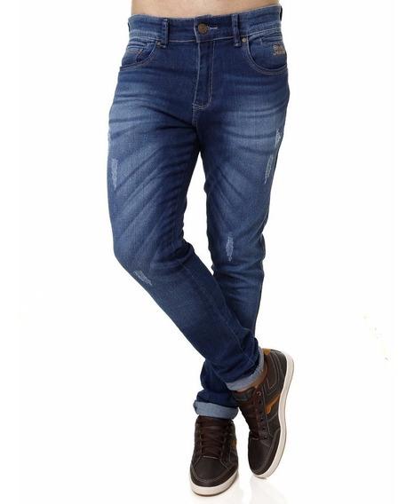 Kit 6 Calças Jeans Masculina Skinny Com Lycra Plus Size