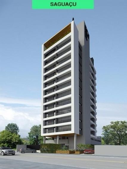 Apartamento No Saguaçu | 02 Suítes + Lavabo Na Sala | Salão De Festas Na Cobertura - Sa00019 - 31953969