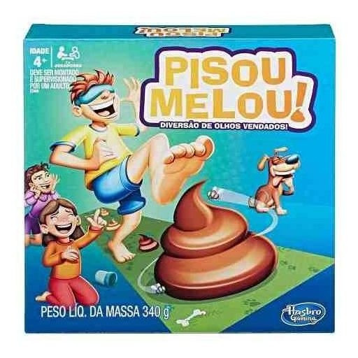 Jogo Pisou Melou E2489 Hasbro