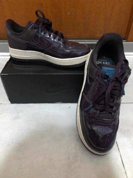 Nike Air Force Violetas Originales