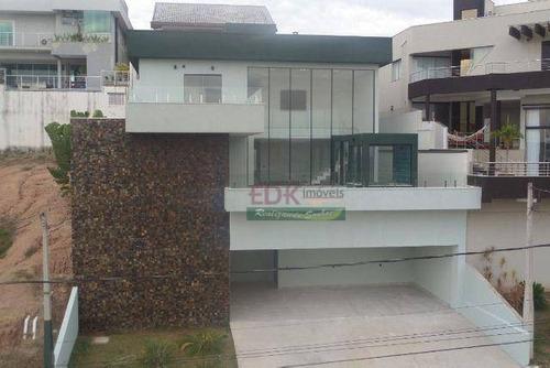 Imagem 1 de 20 de Sobrado Com 5 Dormitórios À Venda, 465 M² Por R$ 2.350.000 - Condomínio Residencial Jaguary - São José Dos Campos/sp - So0997