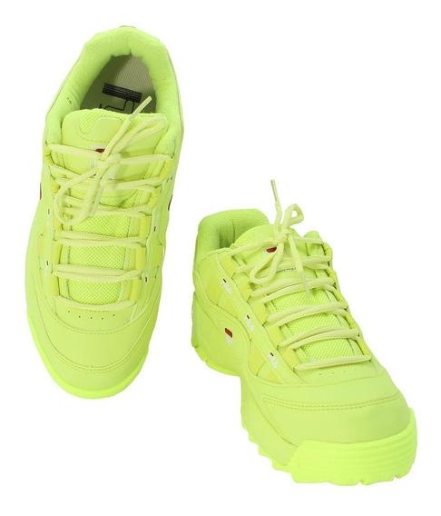 Tênis Fila D-formation Feminino - Verde Limão