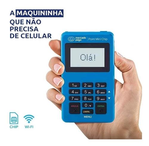 Imagem 1 de 7 de Maquina Point Mini Chip Não Precisa De Celular Mercado Pago
