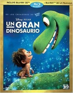 Bluray 3d Original - Un Gran Dinosaurio + Bluray Normal