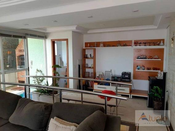 Apartamento Com 3 Dormitórios À Venda, 160 M² - Taquaral - Campinas/sp - Ap6085