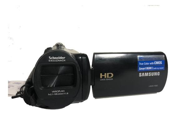 Video Cámara Hd Samsung Hmx-f800 Con Accesorios