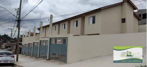 Casa Com 2 Dormitórios À Venda, 70 M² Por R$ 190.000,00 - Jardim Vassouras - Francisco Morato/sp - Ca0635