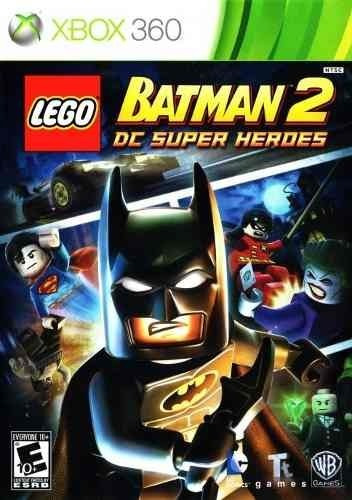 Jogo Lego Batman 2 Dc Super Heroes Xbox360 Ntsc Em Dvd Origi