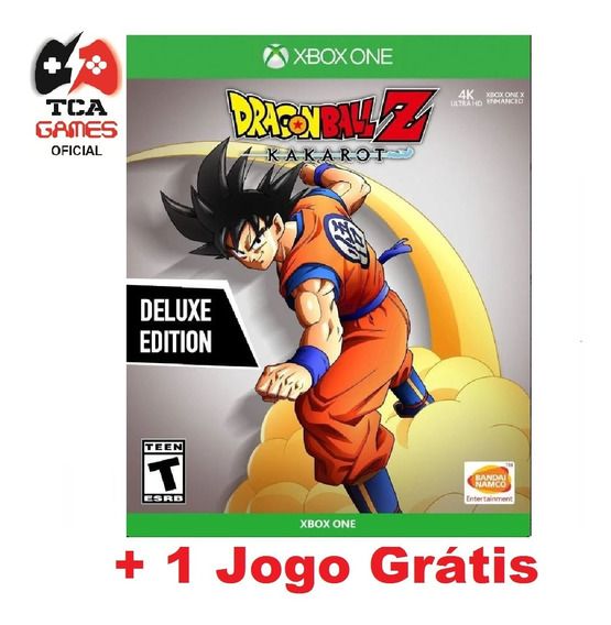 Dragon Ball Z Kakarot Ed. Luxo Xbox One Mídia Digital
