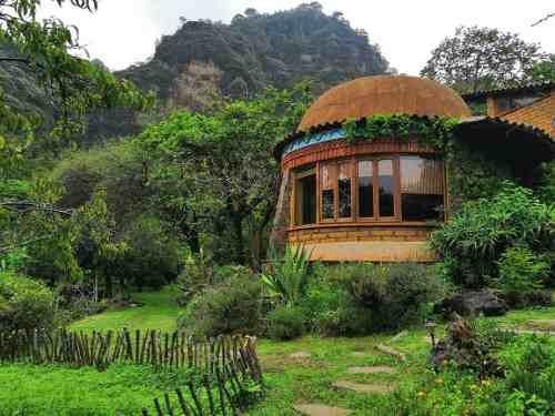 Casa Huehue En Medio De Las Montañas De Tepoztlán