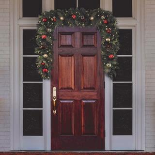 Guirnalda Decorativa 2,7mts Cg Hunter Holiday Navidad Adorno