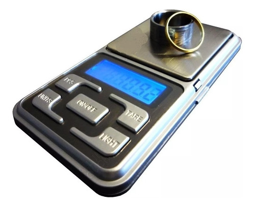 Mini Balanza Digital Precision 0.1 A 500gr Joyero