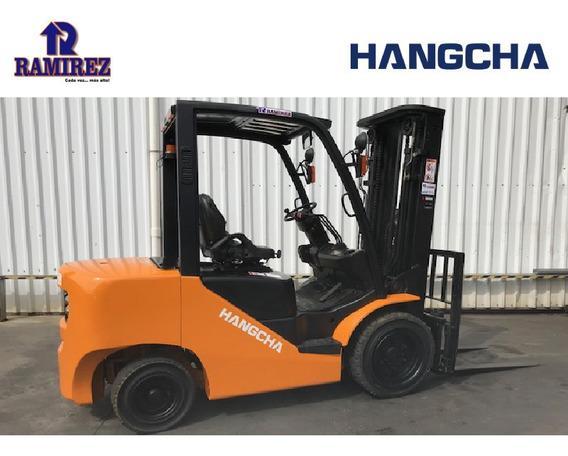 Autoelevador Montacarga Usado Marca Hangcha 3000kg Diesel