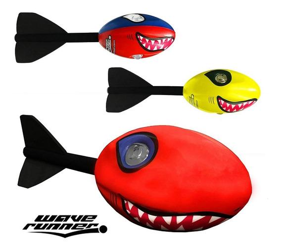 Pelota Tiburón Misil Volador- Resistente Al Agua - Juguete