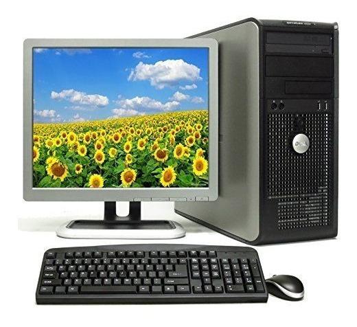 Computadora Completa Doble Nucleo Monitor Lcd 17 Envio Grati