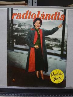Revista Radiolândia Nº 77 1955 Emilinha Borba