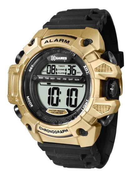 Relógio Xgames Masculino Xmppd399 Bxpx Digital Dourado
