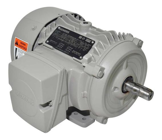 Motor Eléctrico Siemens Trifásico A7b10001013482 2hp 1740rpm