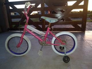 Bicicleta Niño/niña Rodado 13 Rosa