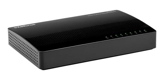 Switch Roteador Intelbras 8 Portas Gigabit Sg 800 Q+