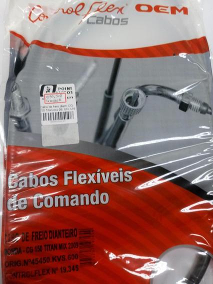 Cabo Freio Dianteiro Cg150 Titan Mix 09 Ed/ Cg150 Fan 09-10