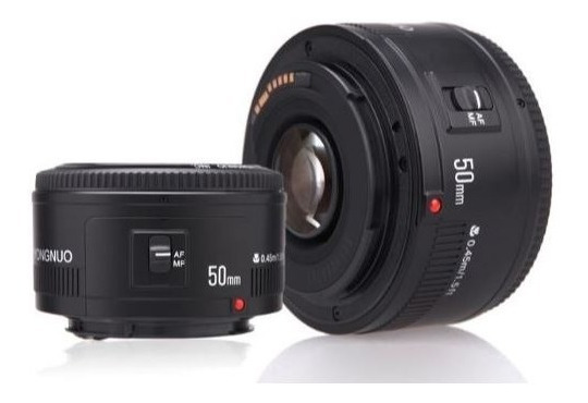 Lente Yongnuo Yn 50mm F1.8 - Canon - Original - Envio Imedia