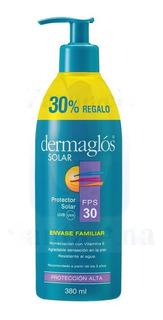 Dermaglos Solar Fps 30 Tamaño Familiar X 380 Gr
