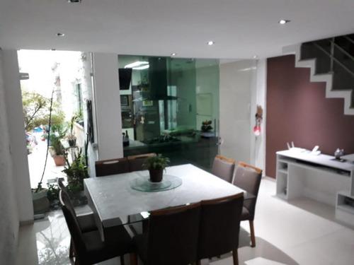 Sobrado Residencial À Venda, Vila Rio Branco, São Paulo. - So6325