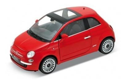 Fiat 500 (2007) (1:24) Original Welly