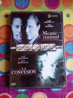 Dvd 2en1 Mente Criminal Y La Confesión