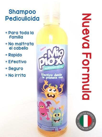 Shampoo Para Piojos Y Liendres Miopiox Para Toda La Familia