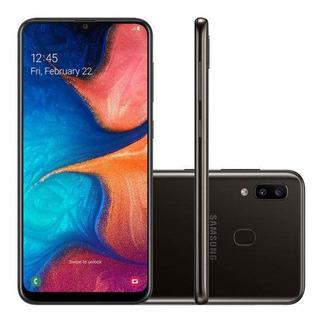 Celular Samsung A20 Preto 32gb (sm-a205g)