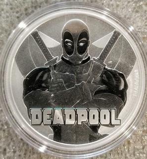 Moneda Plata 1 Onza Deadpool 2018 !