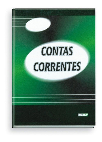 Imagem 1 de 2 de Livro Conta Corrente 1/4 Com Indice 5093-0 Sao Domingos Pt 1