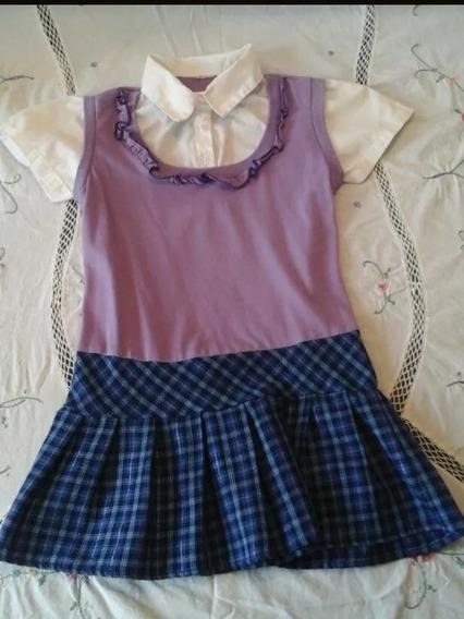 Vestido Para Niñas Talla 6, Como Nuevo