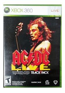 Acdc Ac Dc Ac/dc Rock Band Nuevo Xbox 360 Blakhelmet E
