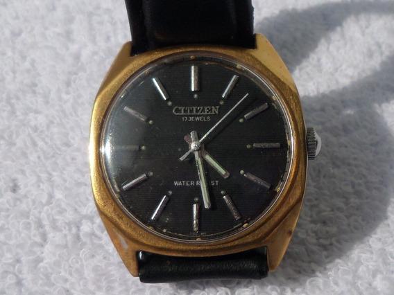 Antiguo Reloj Citizen Vintage De Cuerda Años 60