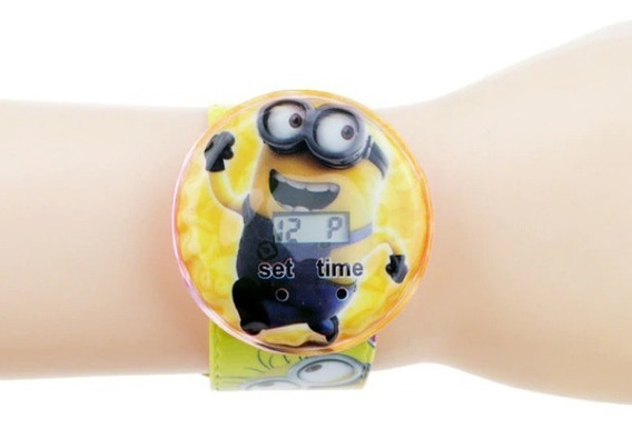 Reloj Digital Frozen, Minion Y Spiderman