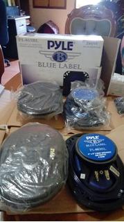 Cornetas Triaxiales Marca Pyle (blue Label) 6x9 240 Watts