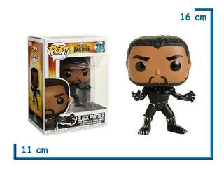 Funko Pop Black Panther Wakanda Marvel Original Dia Del Niño