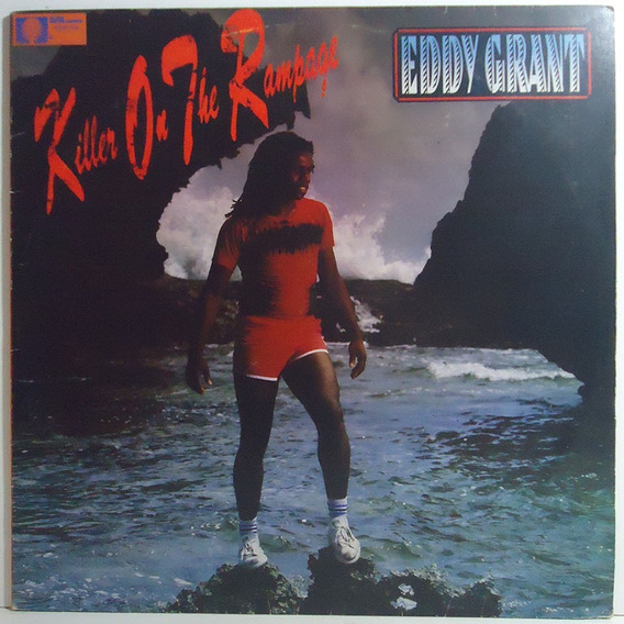 Eddy Grant 1982 Killer On The Rampage Lp Electric Avenue