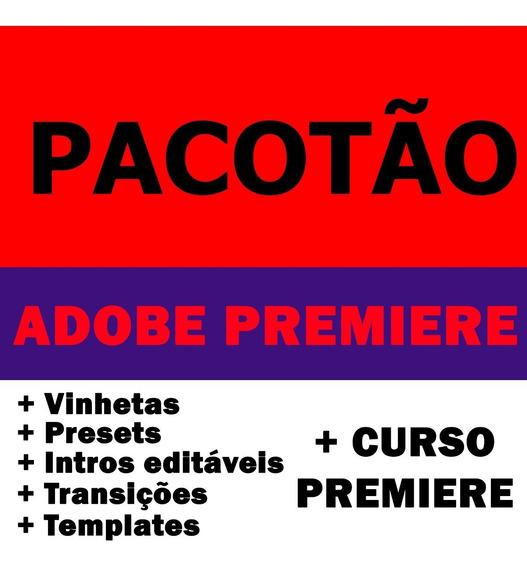 Pacote Premiere: Presets, Trans, Intros + Curso Completo