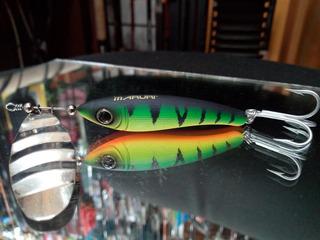 Señuelo Cuchara Winner Maruri Spin Fish / Tarariras