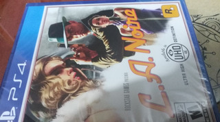 L. A. Noire Ps4 Txt Español Nuevo Sellado