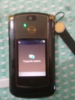 Motorola V8 Dorado Usado Impecable