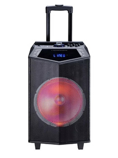 Parlante Karaoke 12 Con Bateria Tagwood Tgw Microfono