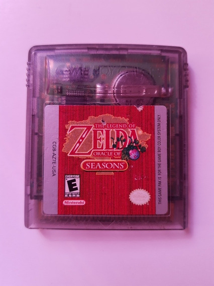 Gbc: Zelda Oracle Of Seasons Rpg Americano! Raro! Novinho!