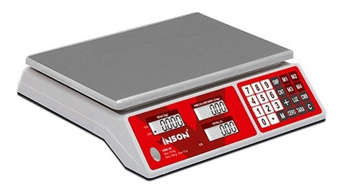 Bascula Comercial Electronica Multifuncion 40kg Vinson Rhino