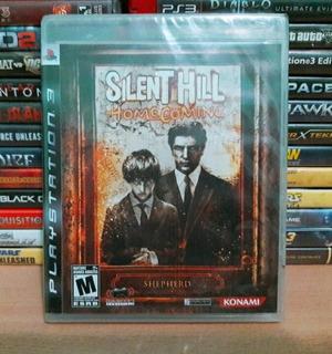 Silent Hill Homecoming Para Ps3 Play 3 ( Nuevo Y Sellado )